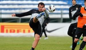 Stankovic allenamento Appiano