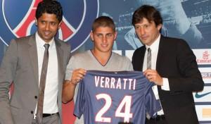 Verratti Paris Saint Germain
