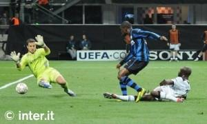 Eto'o Inter-Tottenham 2010 11