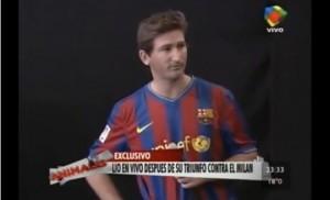 Imitacion Messi