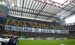 Inter-Juventus coreografia mai stati in b