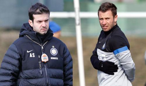 GdS: Stankovic e Cordoba per evitare la rissa. Ecco tutti i dettagli della lite Cassano-Strama