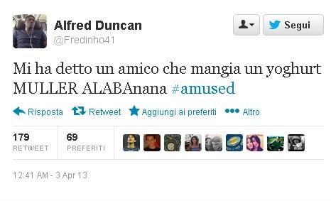 Alfred Duncan Twitter