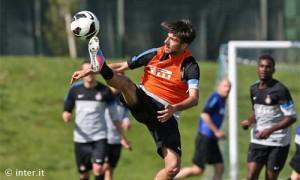 Garritano allenamento Inter