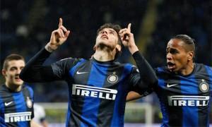 Inter-Atalanta Alvarez esultanza