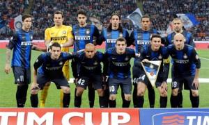 Inter-Roma Tim Cup foto squadra