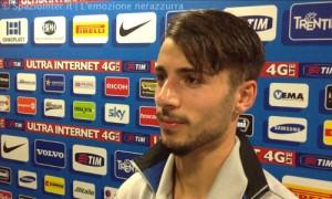 Intervista Garritano mixed zone