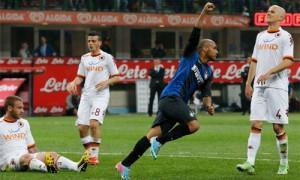 Jonathan Inter-Roma esultanza