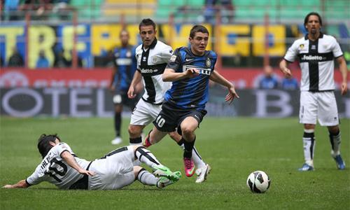 Inter-Parma, i precedenti