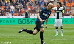 Rocchi Inter-Parma gol esultanza