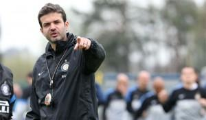 Stramaccioni rifinitura Tim Cup Inter-Roma