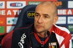 Genoa vs Inter conferenza Ballardini