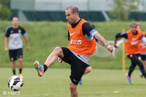 Stramaccioni recupera Palacio Inter allenamento 14 maggio 2013 (5)