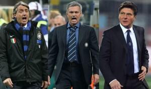 Mancini Mourinho Mazzarri