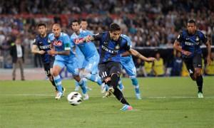 Napoli Inter rigore Alvarez