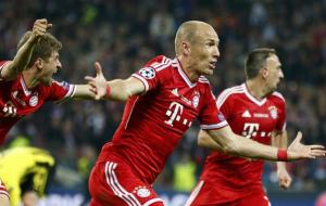 video Borussia Dortmund vs Bayern Monaco Robben finale Champions