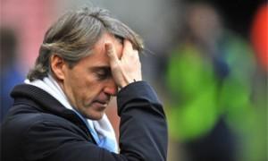 Manchester City esonera Roberto Mancini