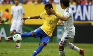 Confederations Cup Neymar gol Brasile Giappone