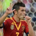David Villa Confederations Cup 2013
