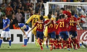 Finale Italia-Spagna Europeo Under 21