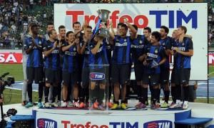 Trofeo Tim 2013 Inter festeggia 2012