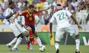 Jordi Alba Confederations Cup 2013 Spagna-Nigeria