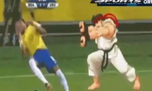 Neymar Street Fighter