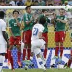 Confederations Cup 2013 Pirlo punizione Italia-Messico