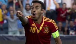 Thiago Alcantara Spagna-Italia Euro 2013 Under 21
