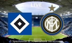 LIVE Amburgo vs Inter