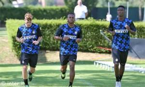Appiano pimo allenamento 2013-14 Longo Obi Mbaye