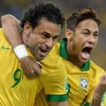 Brasile-Spagna Confederations Cup 2013 Fred Neymar