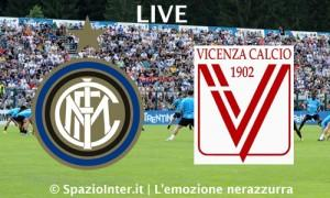 live Inter vs Vicenza