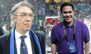 incontro decisivo tra Moratti e Thohir