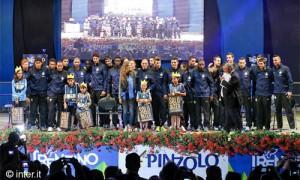 Presentazione della rosa nerazzurra 2013-14