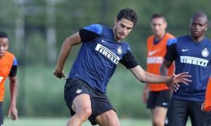 Andrea Ranocchia Inter allenamento