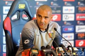 Conferenza stampa Liverani Genoa