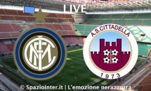 Inter-Cittadella LIVE