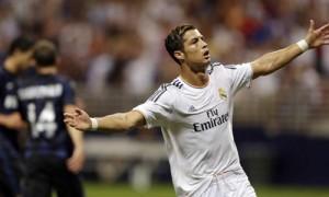 Inter-Real Madrid Cristiano Ronaldo gol