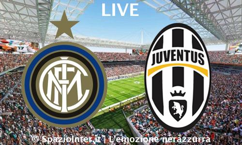 LIVE Inter vs Juventus