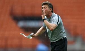 Walter Mazzarri rifinitura Inter vs Genoa
