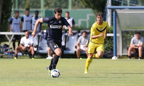 Inter vs Lugano Milito