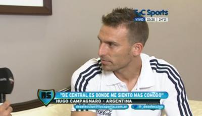 Hugo Campagnaro intervista