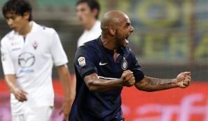 Jonathan Inter-Fiorentina esultanza