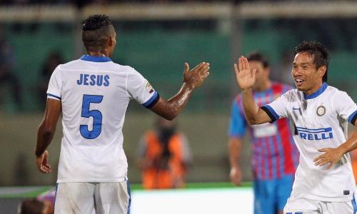Juan Jesus Nagatomo Catania-Inter