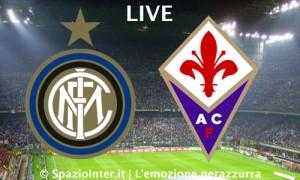 LIVE Inter Fiorentina