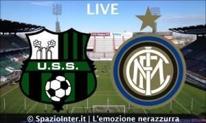 LIVE MATCH Sassuolo-Inter