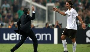 Mourinho Ibrahimovic