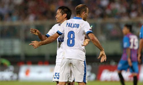 Nagatomo Palacio Catania-Inter