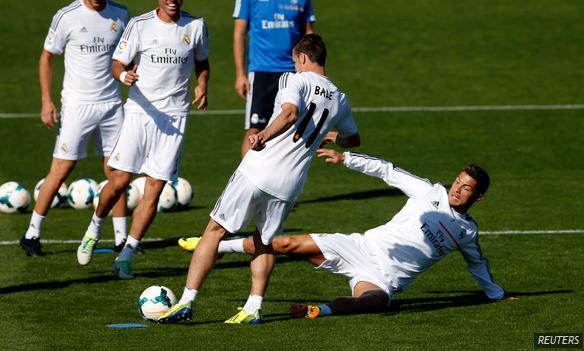 Real Madrid Bale Cristiano Ronaldo